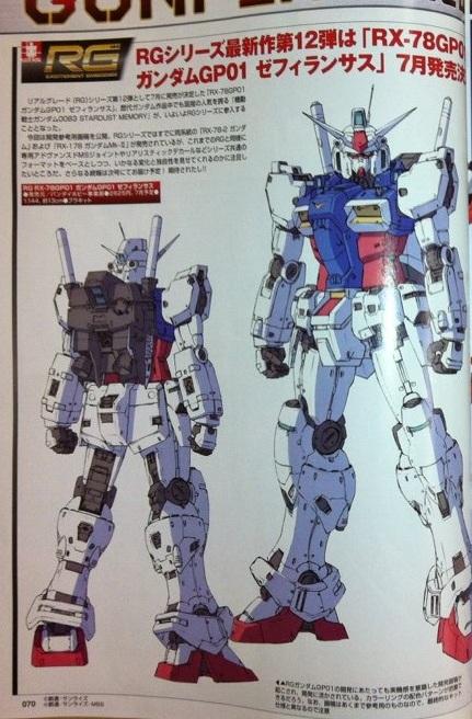 RG RX-78GP01①